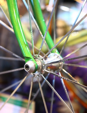 Hoshi bladed spokes were noteworthy for their trick double-bend heads that didn't require you to slot the holes