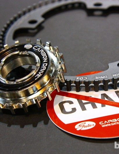 Gates Carbon Drive and White Industries have come together to produce the new Centertrack-compatible CDX Freewheel