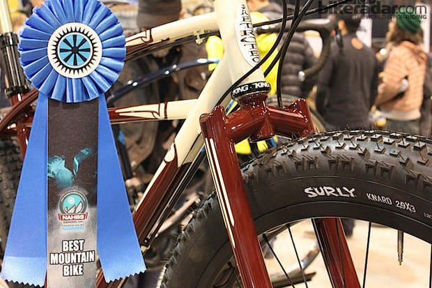 Curtis Inglis won Best Mountain Bike for the second straight year