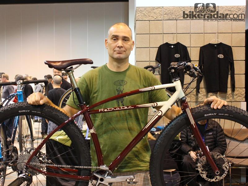Inglis with his winning bike