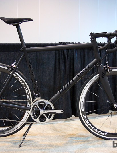 Bill Holland built this (very big) titanium road bike for basketball great Bill Walton, who stands at 2.11m (6ft 11in) tall