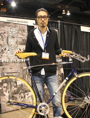 Shin-Icho Konno is a second generation frame builder