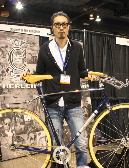 Shin-Icho Konno is a second generation frame builder