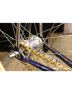 Sturmey Archer's S2C Duomatic two-speed kickback coaster brake hub