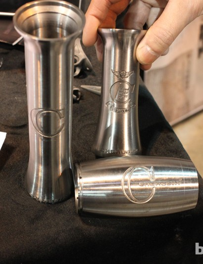 Cherubim also makes its own curvacious head tubes...