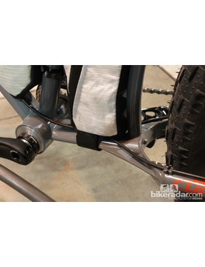 Hunter used yoke to stretch the rear end out...