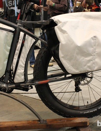 ...to gain enough heal clearance for the massive rear panniers