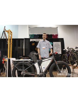 Rick Hunter is getting quite good at building adventure bikes