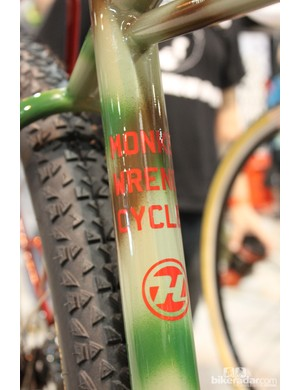 This bike was build for Nate Woodman, owner of Monkey Wrench Cycles in Lincoln, Nebraska