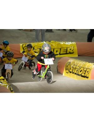 UK balance bike racing