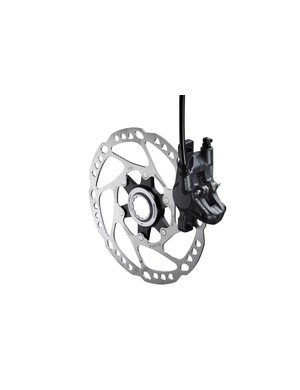 Shimano BR-M615 caliper without Ice Tech pads
