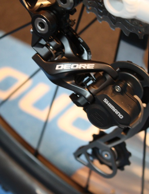 The Shimano RD-M615