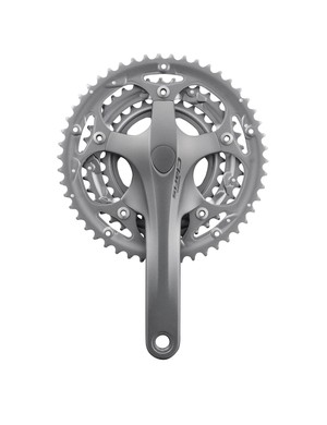 Shimano FC-2403 chainset silver