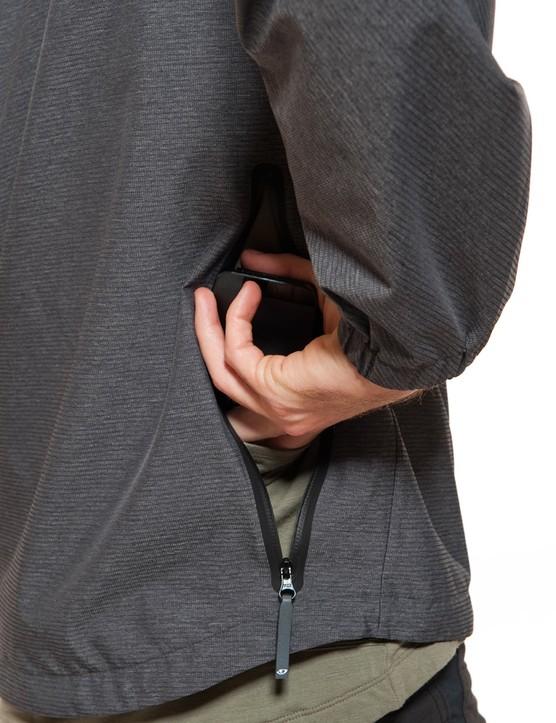 Rear and shoulder pockets