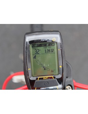 The GPS screen shows a breadcrumb trail, which can be somewhat helpful in finding your way back in unfamiliar areas, but isn't a bona fide navigation device