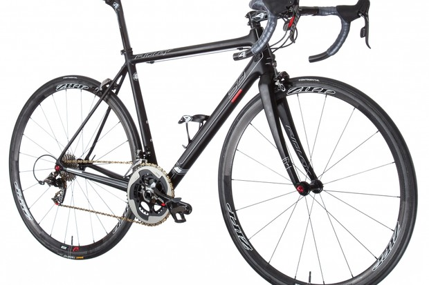 The Helium SL build weighs 5.52kg