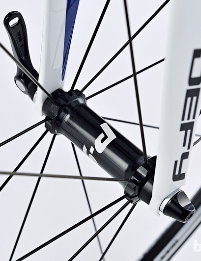Giant's own-brand P-SL1 wheels helped Giant to scale the Bike of the Year podium