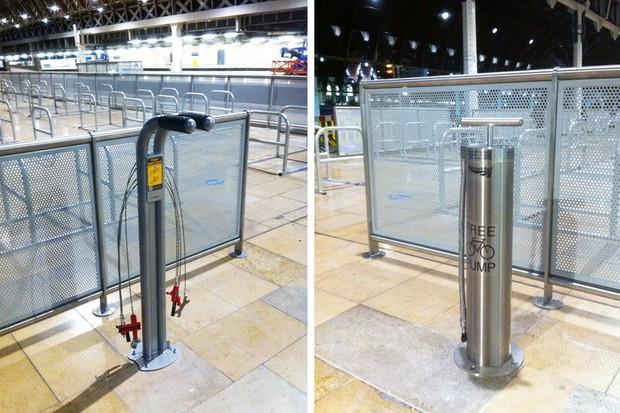 Pitstop facilities for Paddington cyclists