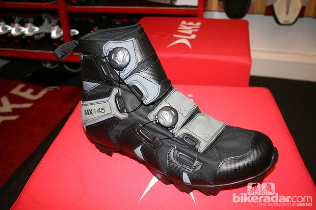 The new Lake MX145 should keep your feet warm and dry on wet rides.