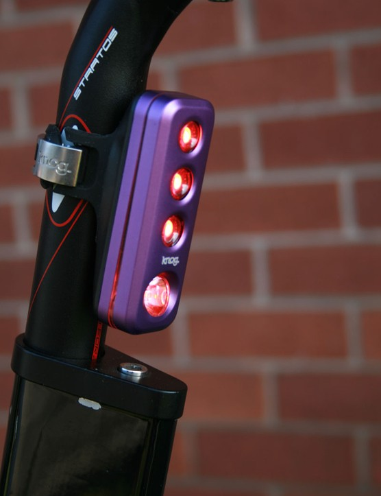 Knog Road Blinder Rear, nice and visible!