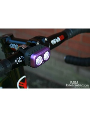 Knog Road Blinder Front, 200 lumes of lighting power in a stylish package.