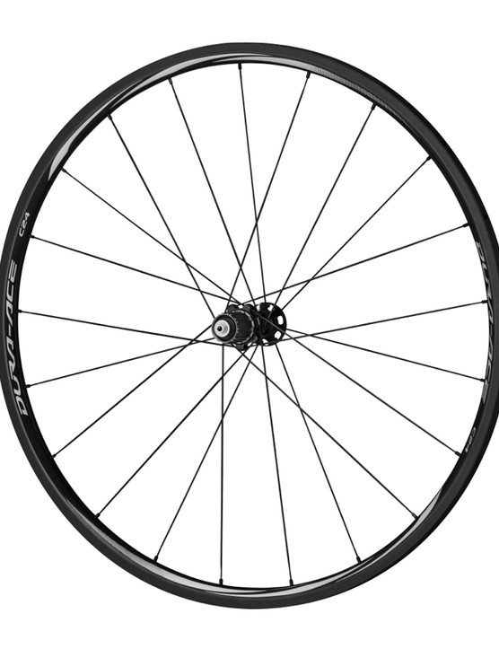 The C24 tubular wheelset weighs a claimed 1,110g