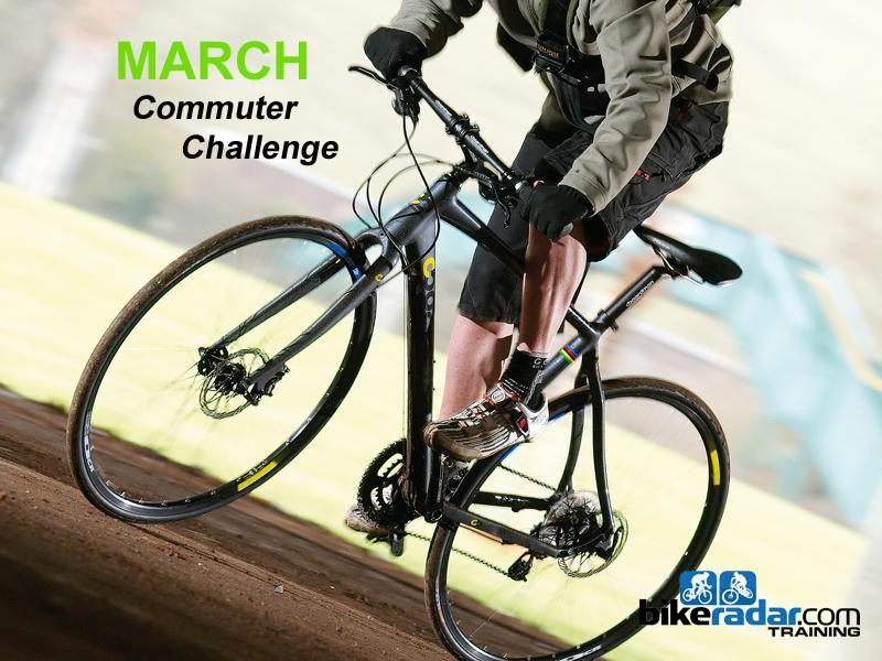 The March Commuter Challenge is well underway