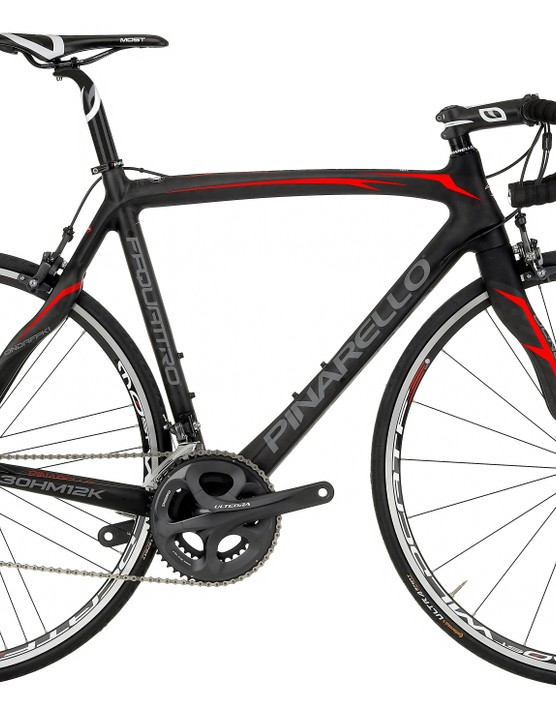 The Pinarello FP Quattro is the range-topper for Halfords