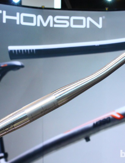 Claimed weights for Thomson's new titanium flat bars range from 310-345g depending on size