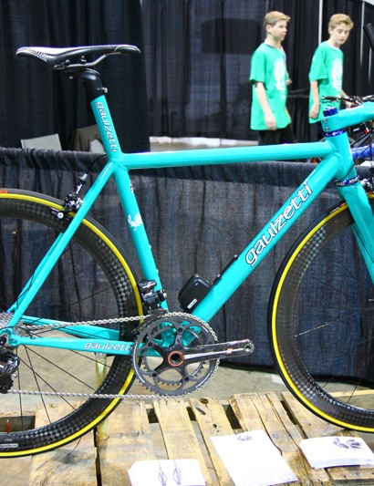 The Corsa aluminum road bike is Craig Gaulzetti's bread and butter machine, offering an apologetically firm ride he says is purpose-built for racing