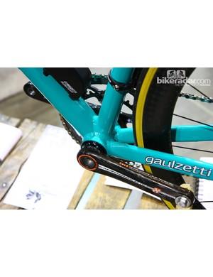Gaulzetti frames feature PressFit30 bottom brackets
