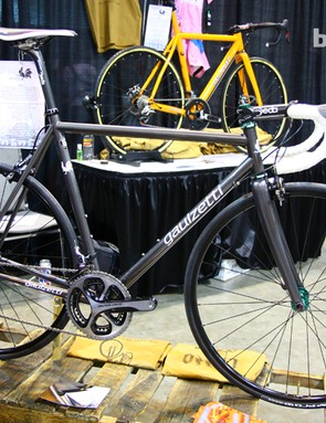 Although better known for his aluminum bikes, Craig Gaulzetti now offers steel road bikes, too, also using Dedacciai tubing