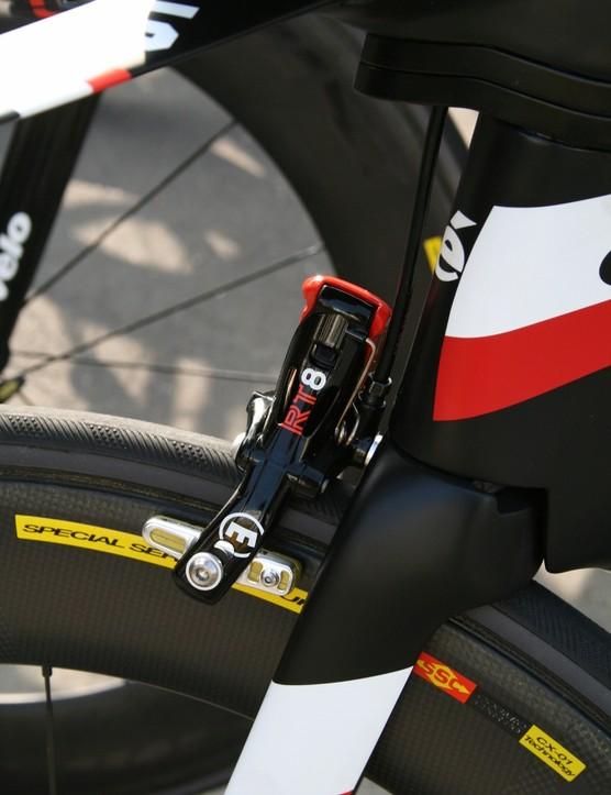Garmin started using Magura's RT8 TT hydraulic brake system on Cervelo bikes last year – and the partnership continues