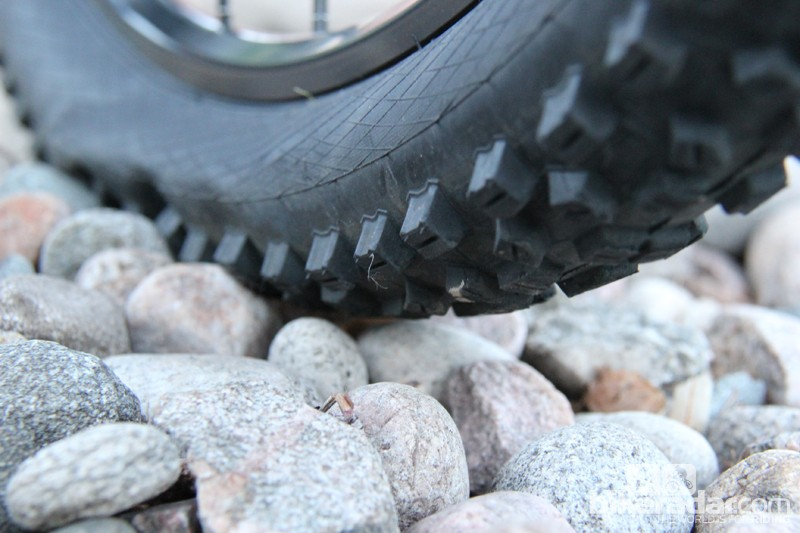 Tire pressure has a huge impact on how your bike performs on the trail