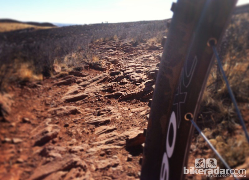 cc114ac791a Be sure to take trail conditions into account. Got rocks? Consider running  more pressure