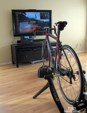 CycleOps' VirtualTraining package makes indoor training more interesting than usual