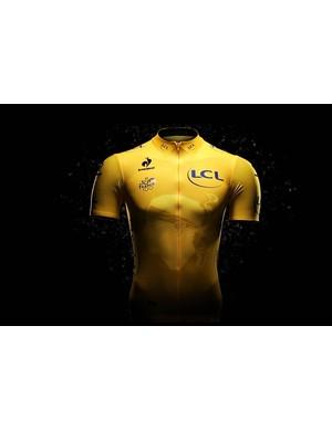 The 2013 Tour de France yellow jersey