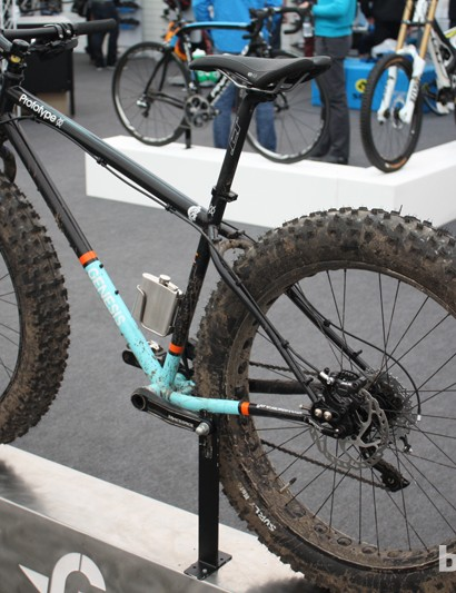 Another Genesis fat bike was also on display, this time in prototype form