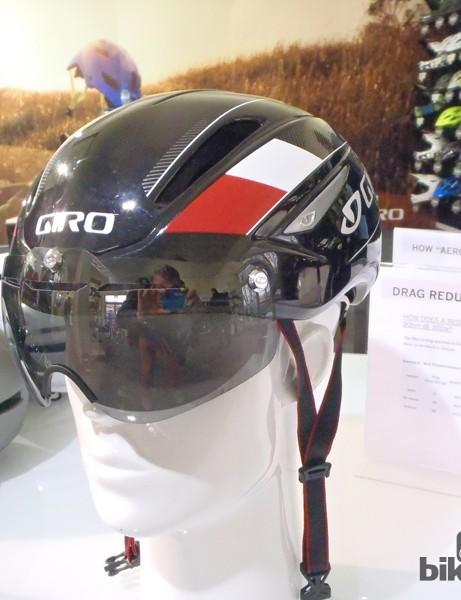 The Giro Air Attack aero helmet with magnetic visor…