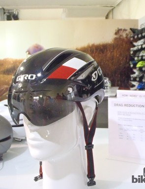 The Air Attack's magnetically attached visor is down here, to enhance its aerodynamics capabilities