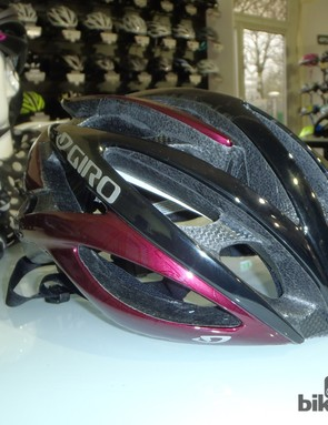 The Giro Amare is the most expensive lid in the new women's road lineup