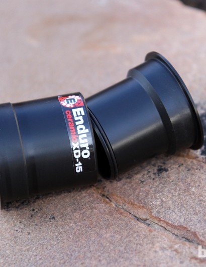The sealed sleeve design should prevent contamination from water dribbling down from the top of the seat tube