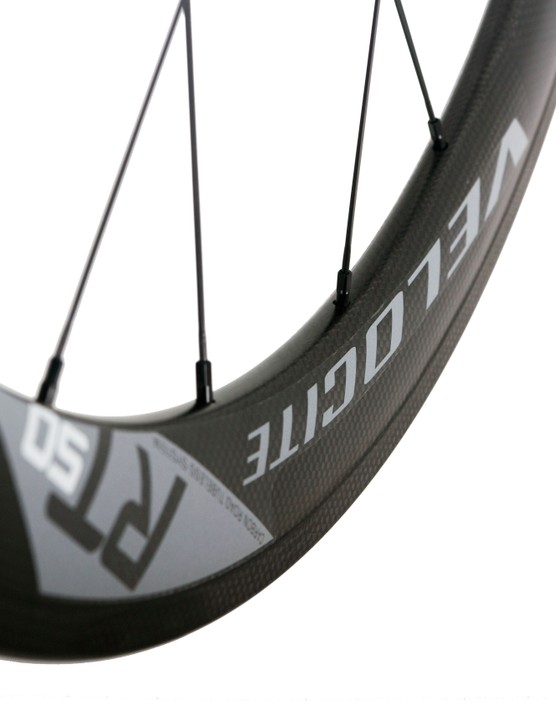 Velocite carbon clinchers