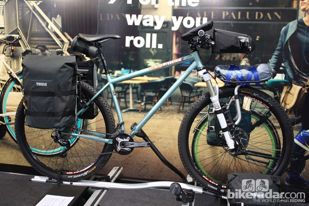 The Tour (rear) and Sport racks are part of Thule's new luggage carrying range