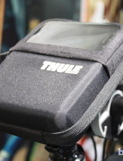 Thule are now providing handlebar-mounted carriers for the iPhone...