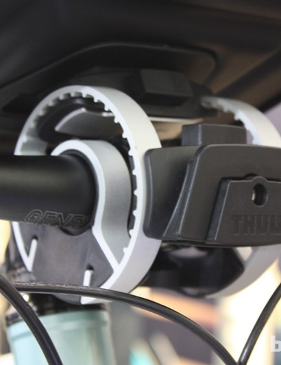 The adjustable handlebar attachment