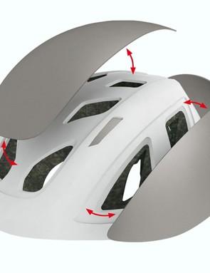 Limar's new Velov modular panel helmet