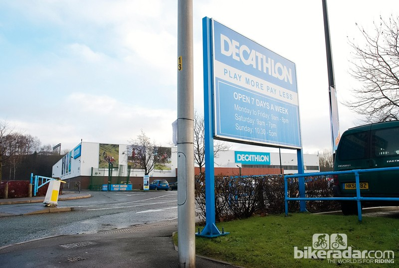 Oxylane have opened nine Decathlon stores in the UK in the past three years alone
