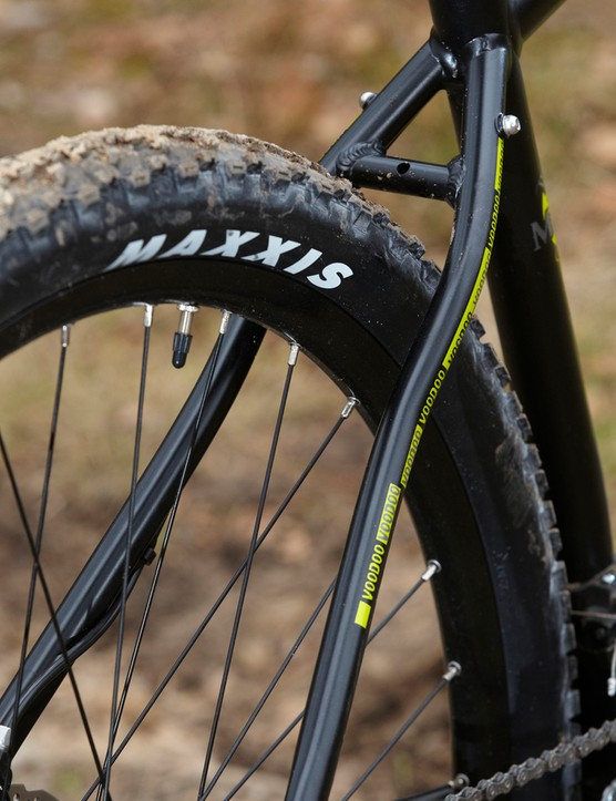Maxxis Ardent rubber is a good choice