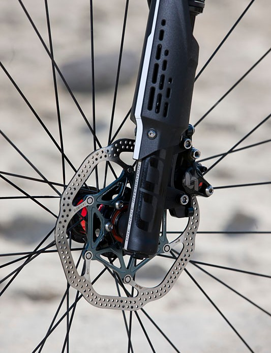 Avid XX World Cup front brake and 160mm rotor